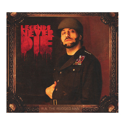 R.A. The Rugged Man - 'Legends Never Die' [CD]