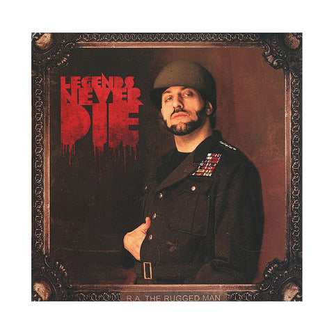 R.A. The Rugged Man - 'Legends Never Die' [(Black) Vinyl [2LP]]