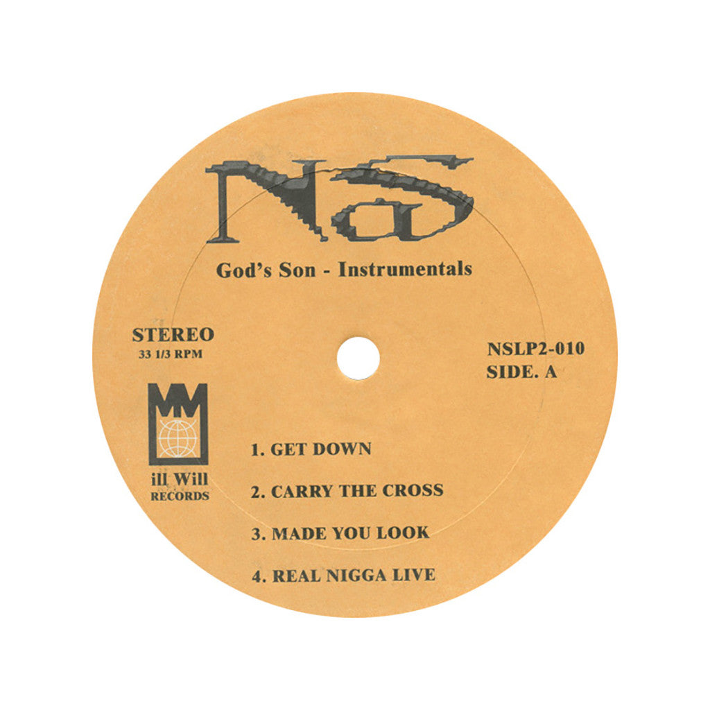 <!--019000101001970-->Nas - 'God's Son (Instrumentals)' [(Black) Vinyl [2LP]]