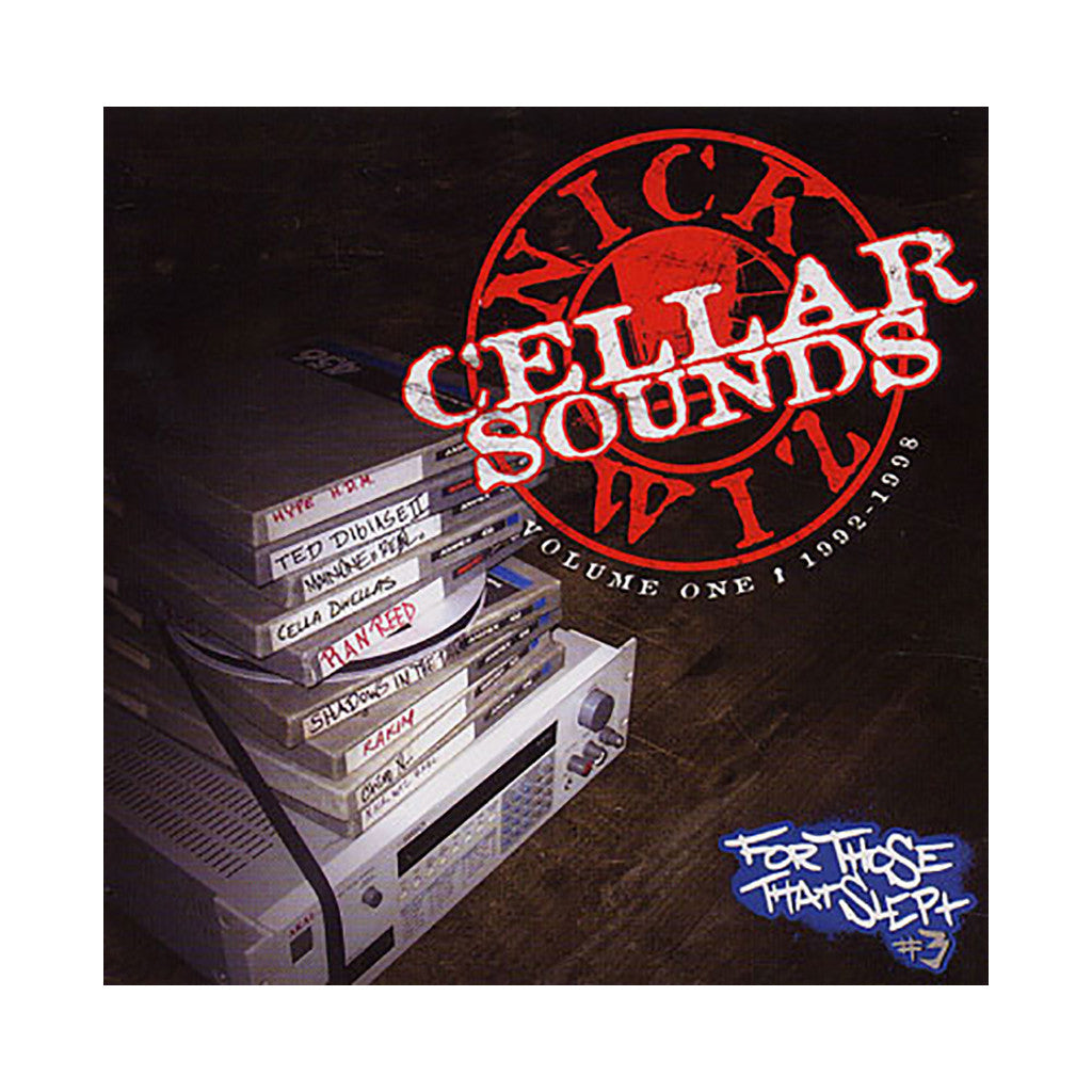 <!--020090707017509-->Nick Wiz - 'Cellar Sounds: Vol. 1 1992-1998' [CD [2CD]]