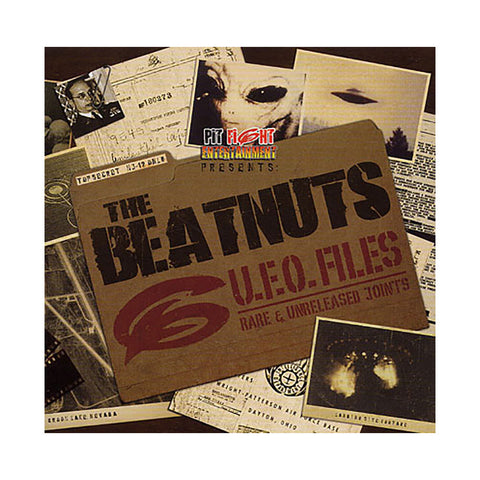 The Beatnuts - 'U.F.O. Files: Rare & Unreleased Joints' [CD]