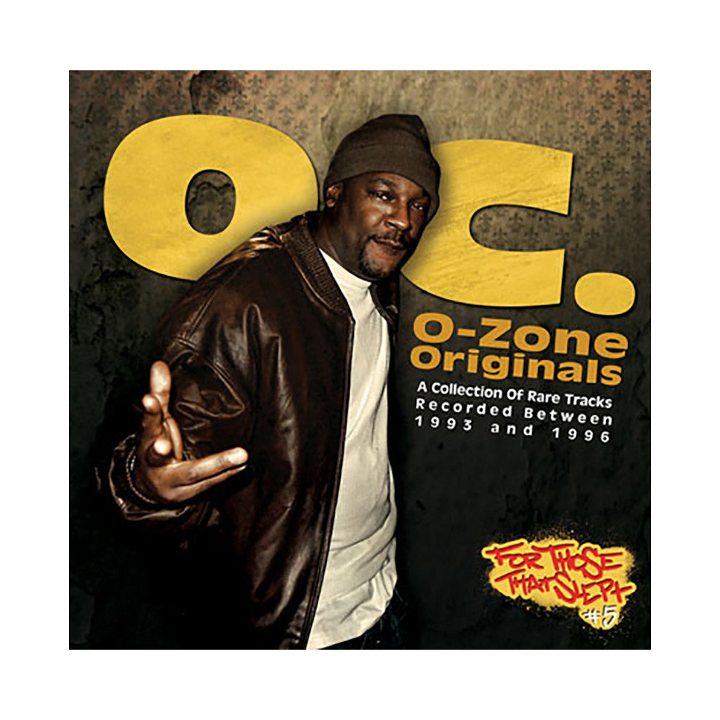 <!--020110920035276-->O.C. - 'O-Zone Originals: Rare Tracks Recorded Between 1993-1996' [CD]