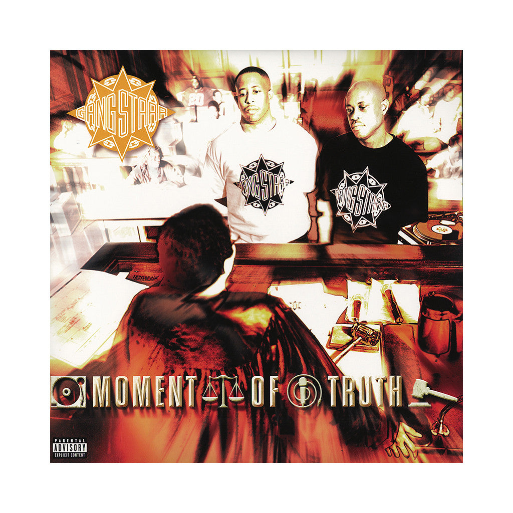 <!--019980331006140-->Gang Starr - 'Moment Of Truth (Import)' [(Black) Vinyl [3LP]]