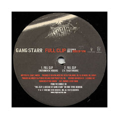 "<!--019990803014193-->Gang Starr - 'Full Clip' [(Black) 12"" Vinyl Single]"