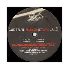"<!--1999080327-->Gang Starr - 'Full Clip' [(Black) 12"" Vinyl Single]"