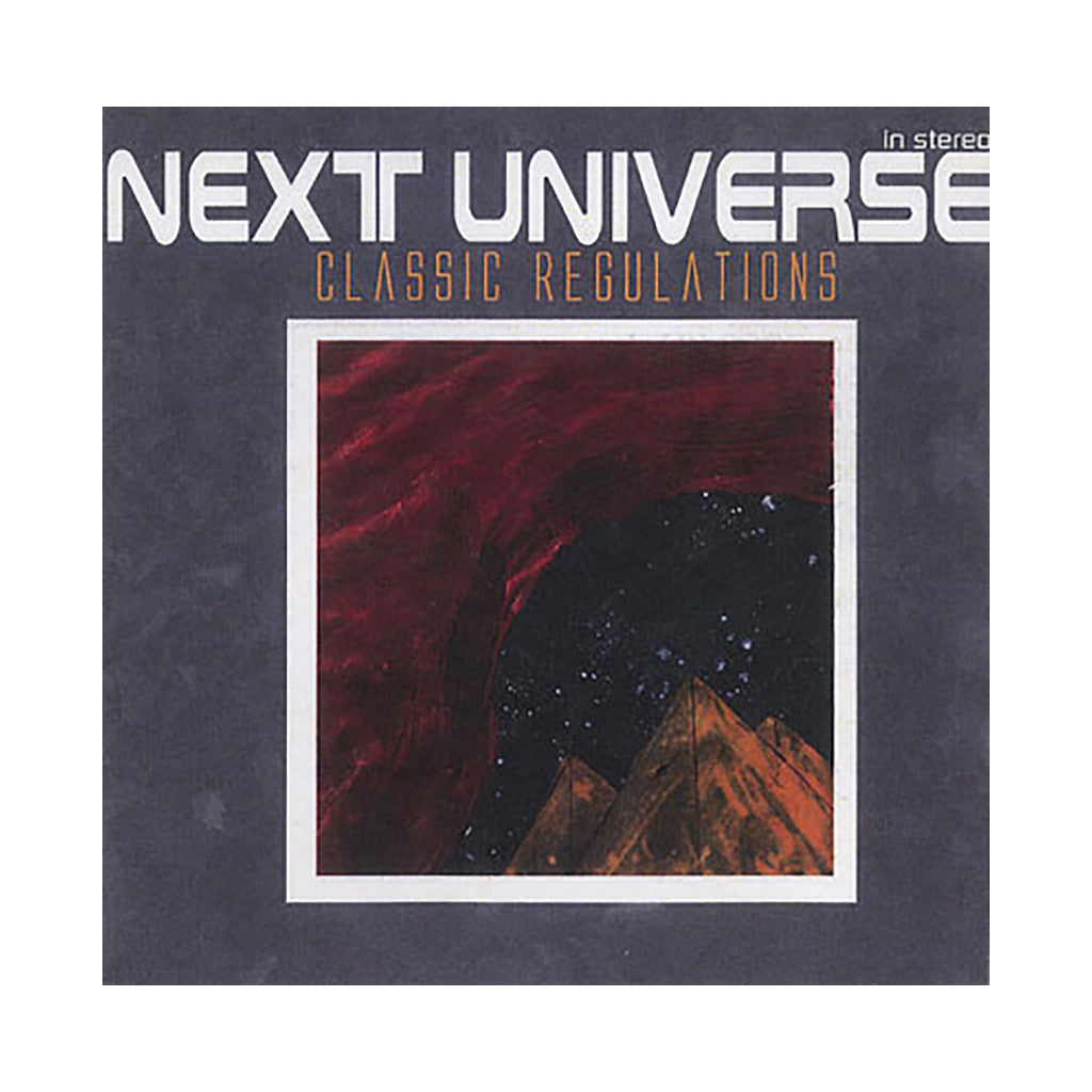 Next Universe - 'Classic Regulations' [CD]