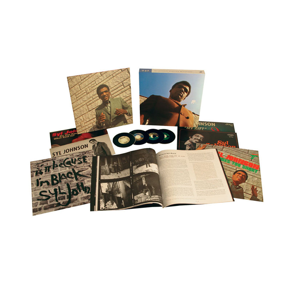 Syl Johnson - 'Complete Mythology' [(Black) Vinyl [6LP]]
