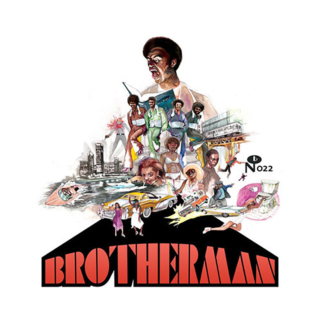 The Final Solution - 'Brotherman (Original Soundtrack)' [CD]