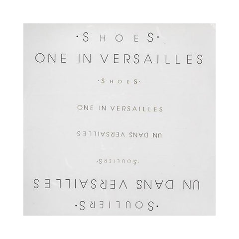 "[""Shoes - 'One in Versailles' [(Black) Vinyl LP]""]"