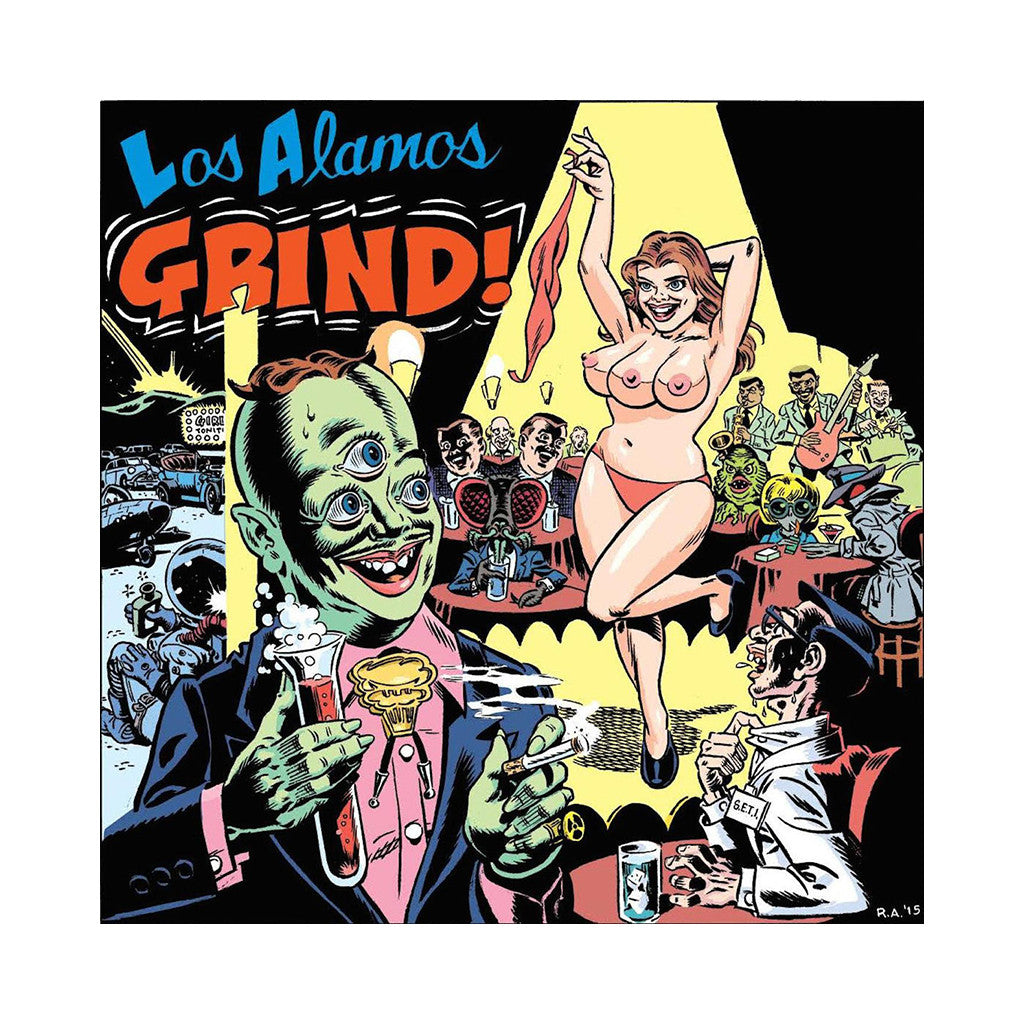 Various Artists - 'Los Alamos Grind!' [CD]