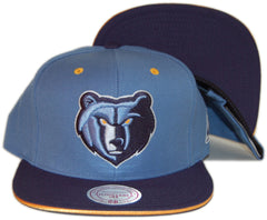 <!--020131001059934-->Mitchell & Ness x NBA - 'Memphis Grizzlies - Tip Off' [(Light Blue) Snap Back Hat]