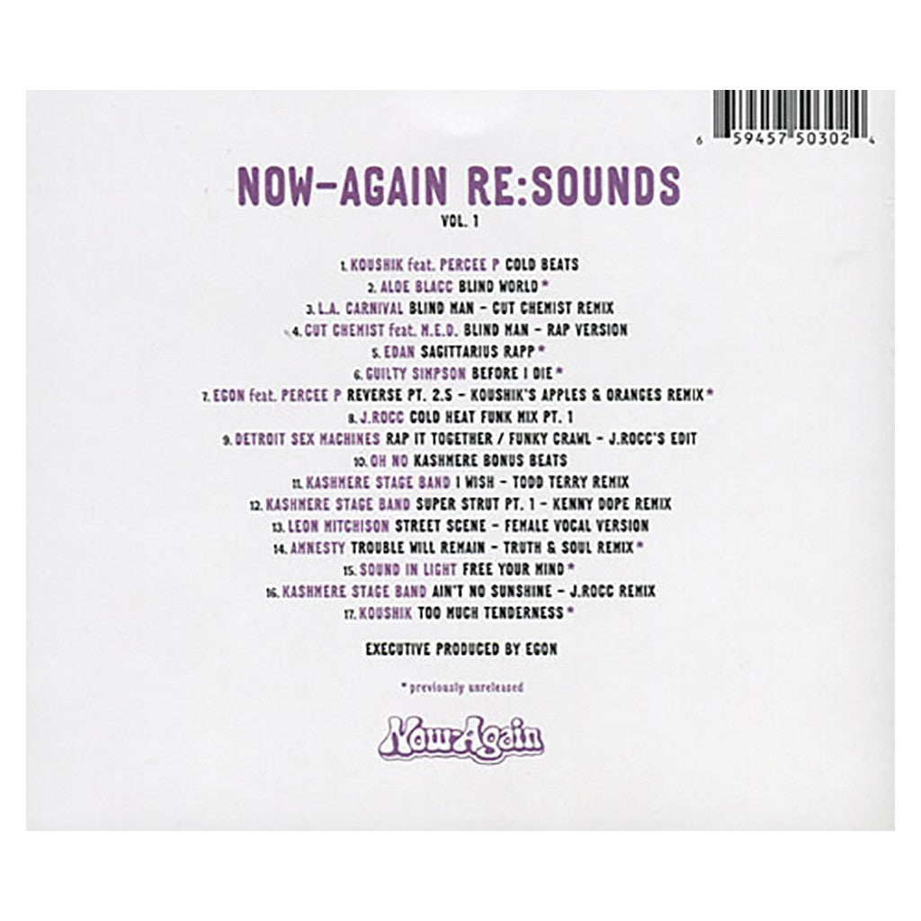 <!--120070717009717-->Various Artists - 'Now-Again Re:Sounds Vol. 1' [CD]