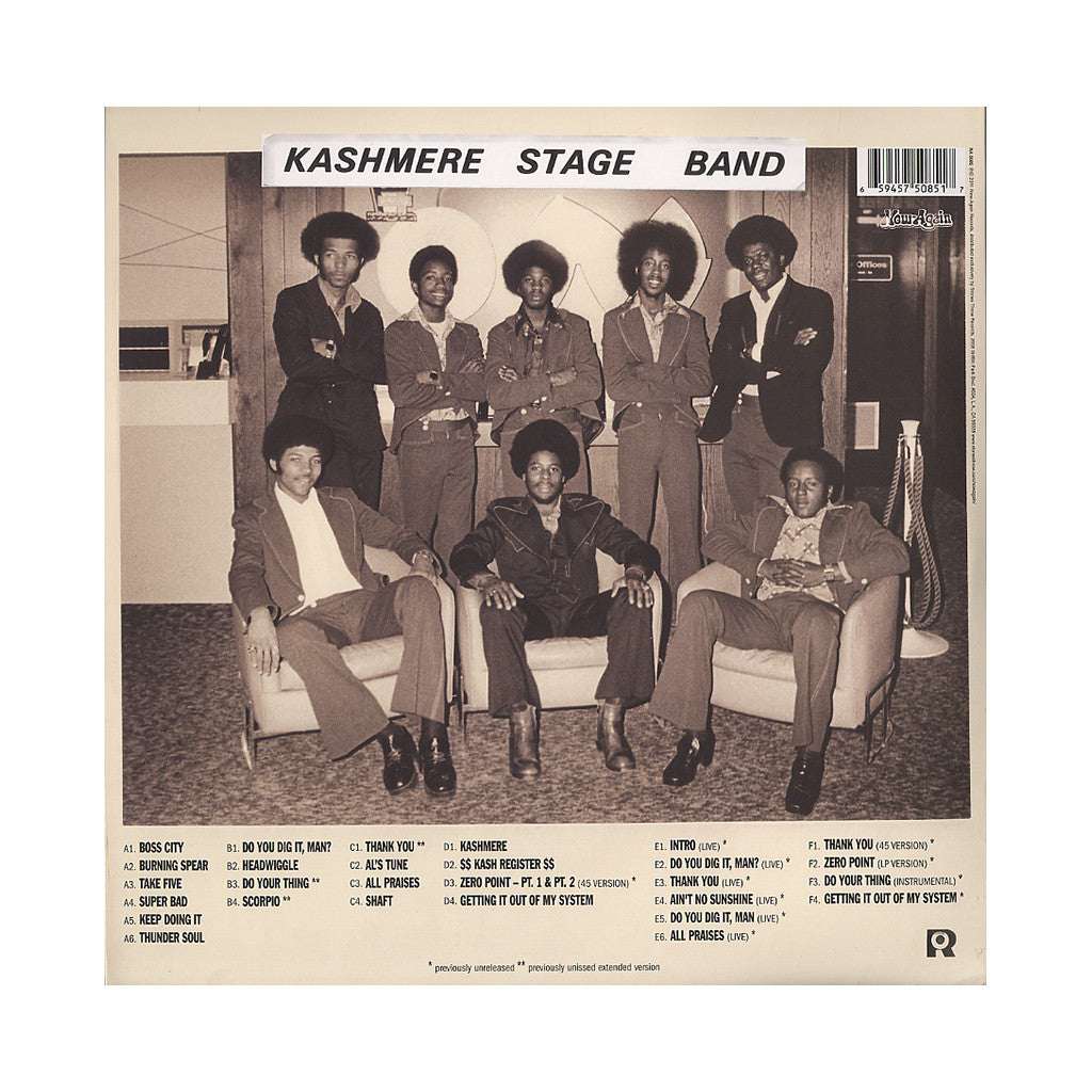 <!--020060905008171-->Kashmere Stage Band - 'Texas Thunder Soul: 1968-1974' [(Black) Vinyl [2LP]]