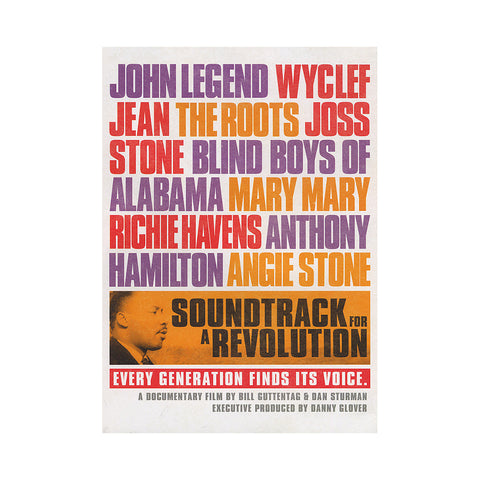 'Soundtrack For A Revolution' [DVD]