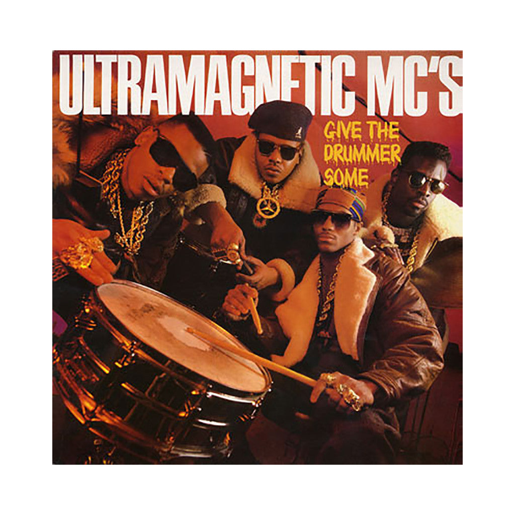 "Ultramagnetic MC's - 'Give The Drummer Some/ Moe Luv's Theme' [(Black) 12"" Vinyl Single]"