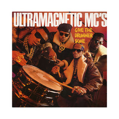 "<!--019890905014847-->Ultramagnetic MC's - 'Give The Drummer Some/ Moe Luv's Theme' [(Black) 12"" Vinyl Single]"