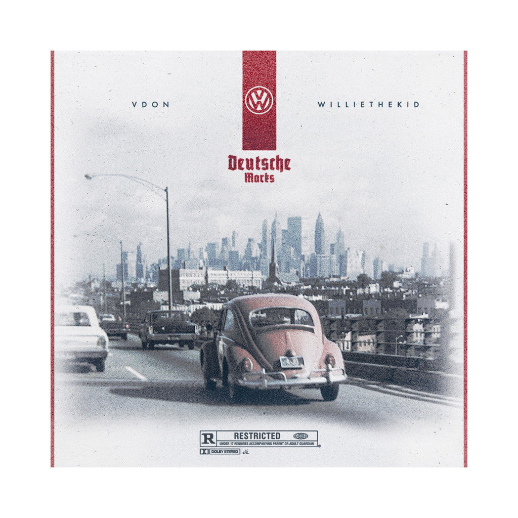 VDon x Willie The Kid - 'Deutsche Marks' [(Black) Vinyl LP]