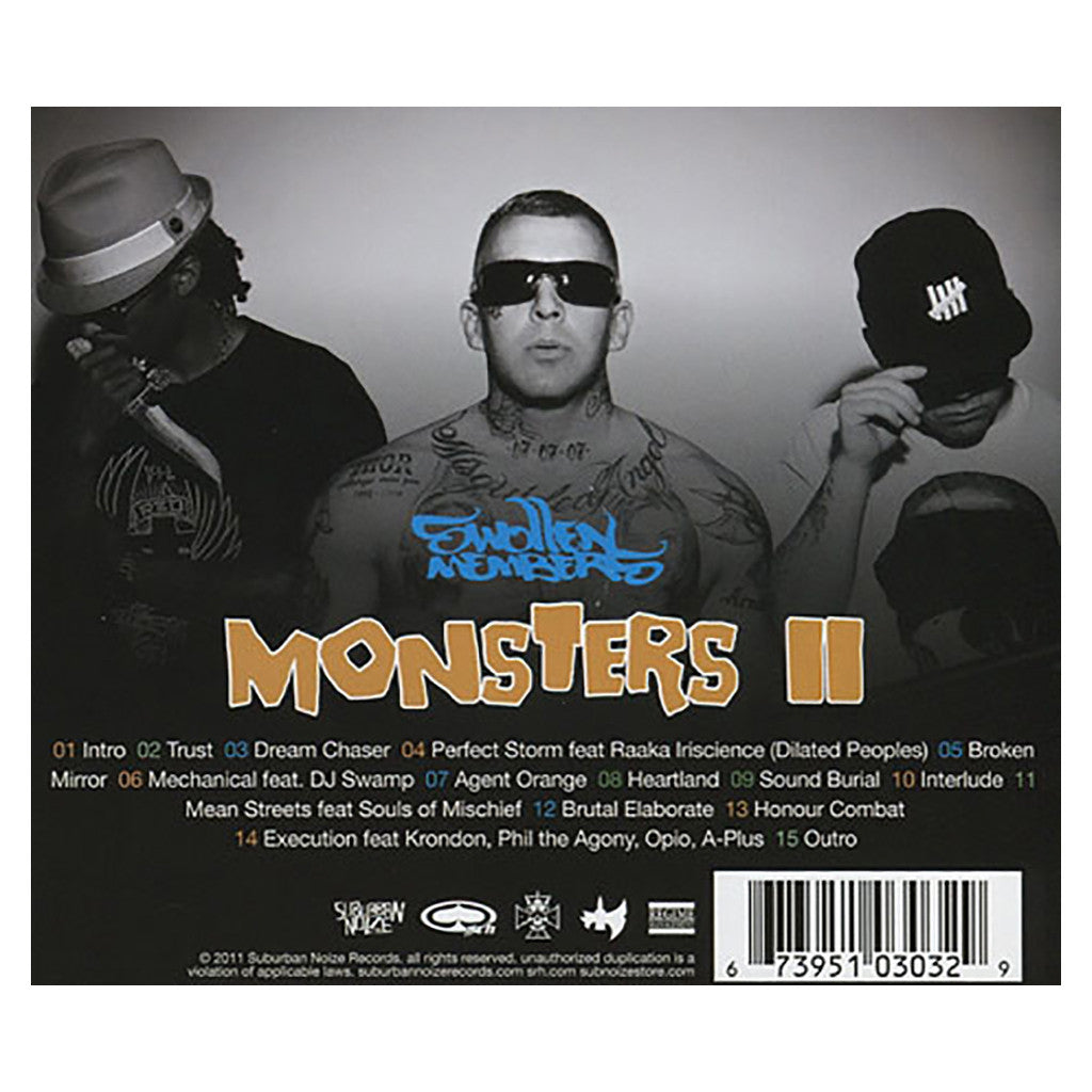 <!--120110802032174-->Swollen Members - 'Monsters II (Monsters In The Closet Pt. 2)' [CD]