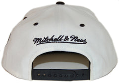 <!--020130416055807-->Mitchell & Ness x NBA - 'Brooklyn Nets - NBA Script Tailsweeper' [(White) Snap Back Hat]