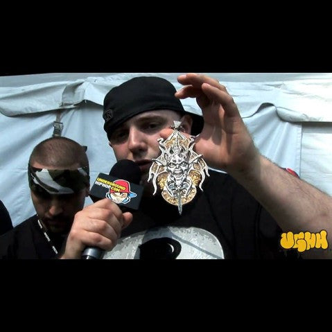 Necro - 'Interview Pt. 1 (At Rock The Bells - Columbia, MD - 7/12/09)' [Video]