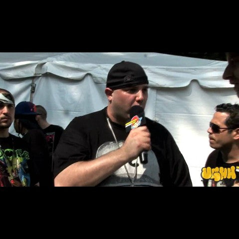 Necro - 'Interview Pt. 3 (At Rock The Bells - Columbia, MD - 7/12/09)' [Video]