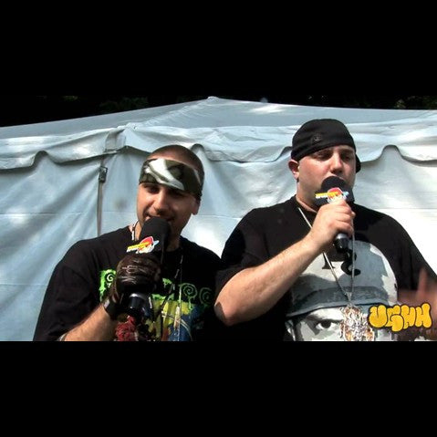 Necro - 'Interview Pt. 4 (At Rock The Bells - Columbia, MD - 7/12/09)' [Video]
