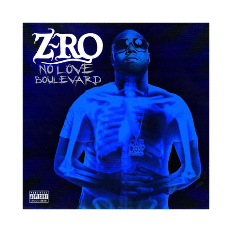 Z-Ro - 'No Love Boulevard' [CD]