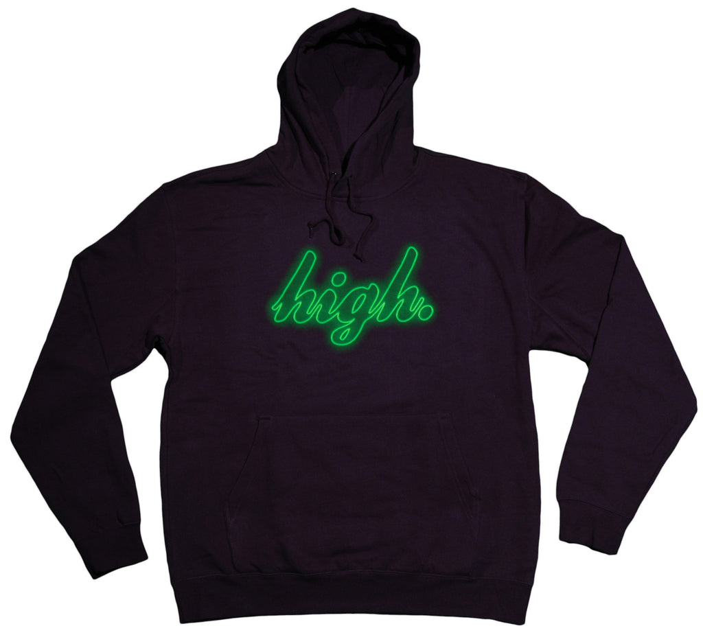 <!--2013082014-->OFWGKTA - 'High Neon' [(Dark Blue) Hooded Sweatshirt]