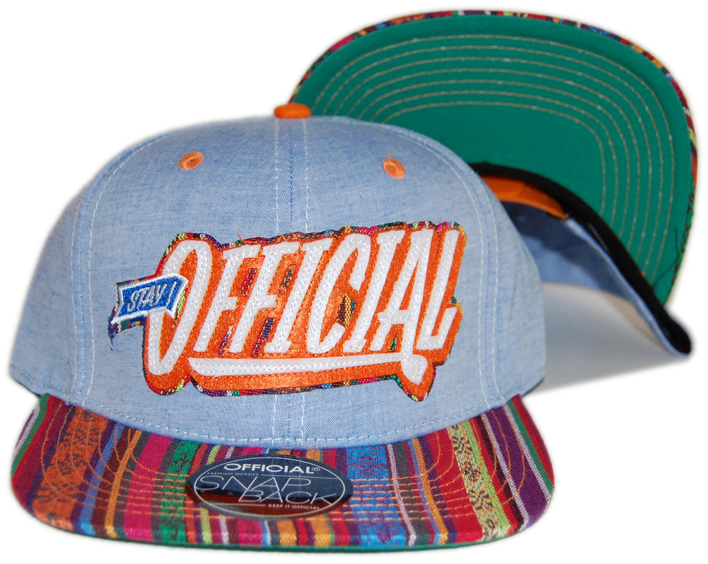 Official - 'Stay Official Lightweight Hippy' [(Light Blue) Snap Back Hat]
