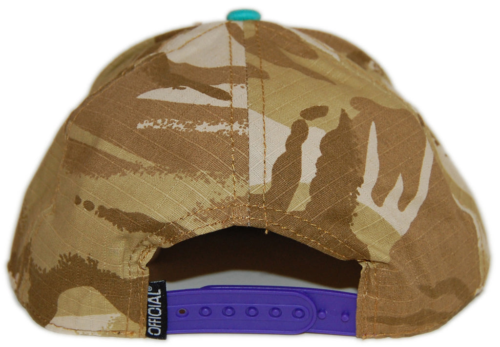 <!--2012092558-->Official - 'The Officials Oasis Steez' [(Camo Pattern) Snap Back Hat]