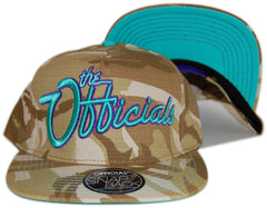 <!--020120925049409-->Official - 'The Officials Oasis Steez' [(Camo Pattern) Snap Back Hat]