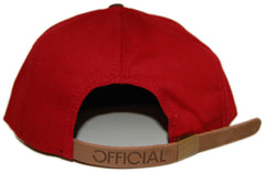 <!--020120925049407-->Official - 'X Plutocrat Burgs' [(Dark Red) Strap Back Hat]
