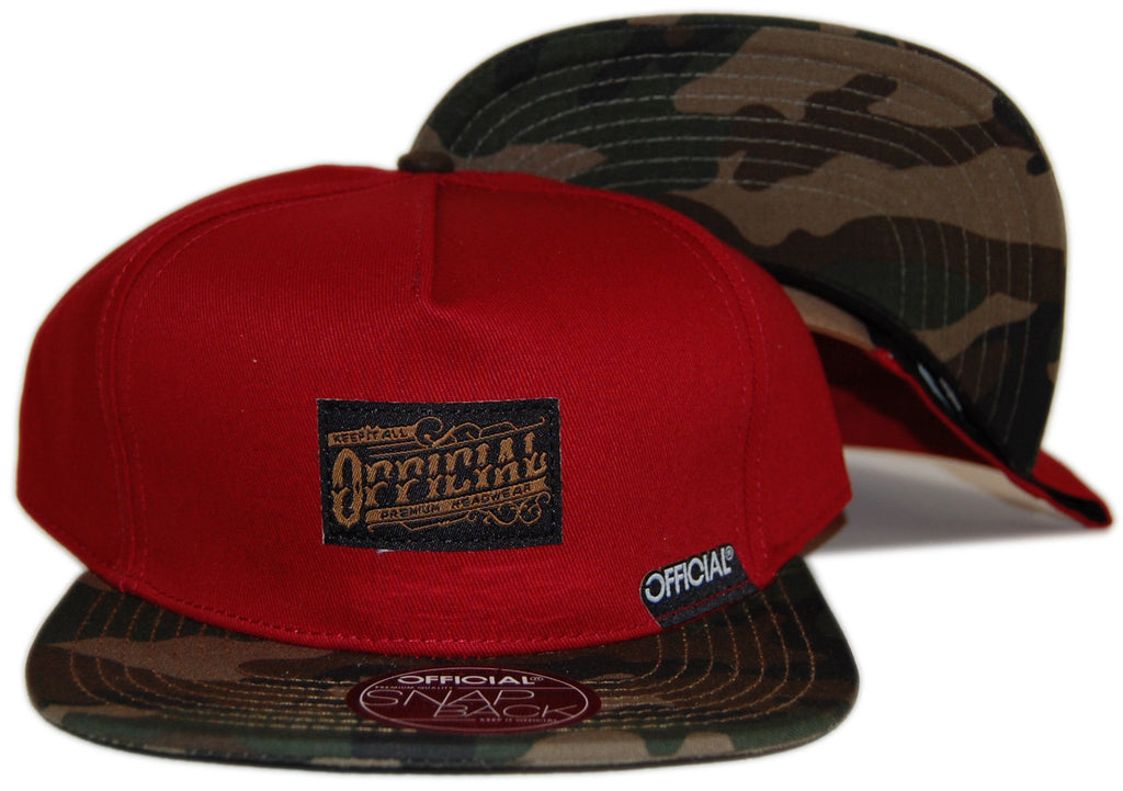 <!--2012092530-->Official - 'X Plutocrat Burgs' [(Dark Red) Strap Back Hat]