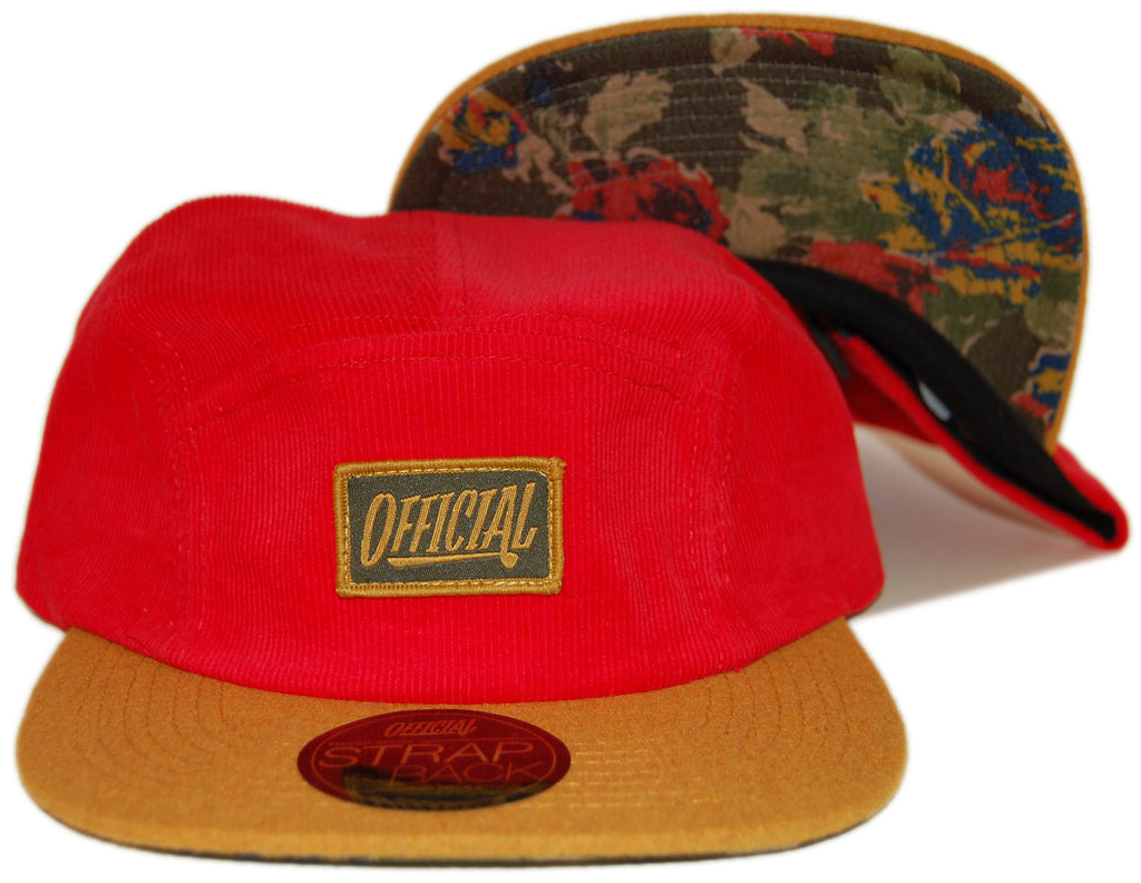 <!--2013082005-->Official - '1D Pequeno '49' [(Red) Five Panel Camper Hat]