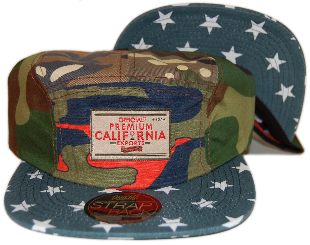 <!--020130820059111-->Official - 'Sweet Home' [(Camo Pattern) Five Panel Camper Hat]