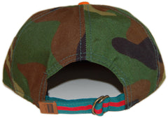 <!--020130820059103-->Official - '2nd Amendment' [(Camo Pattern) Strap Back Hat]
