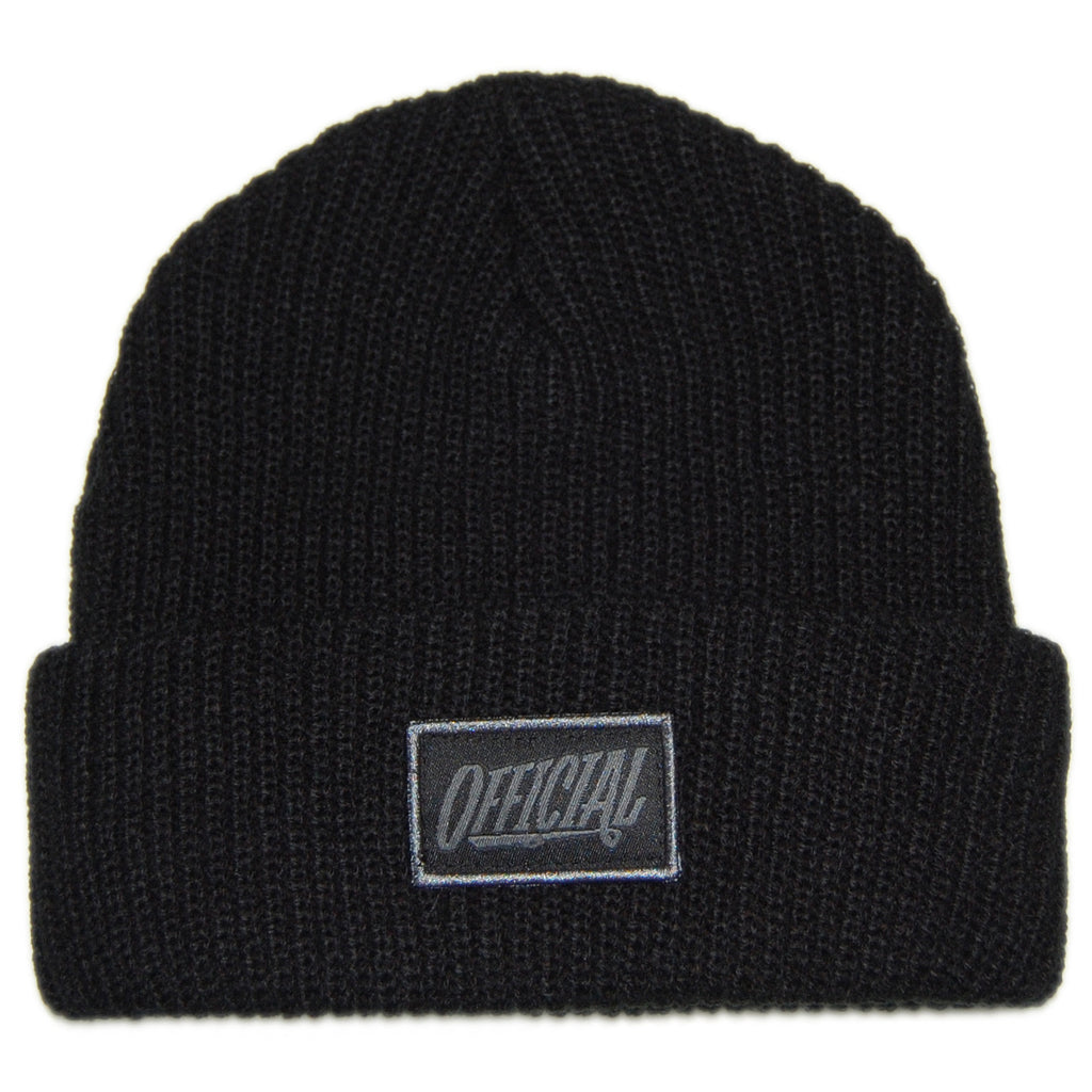 <!--020130820059097-->Official - '1D' [(Black) Winter Beanie Hat]