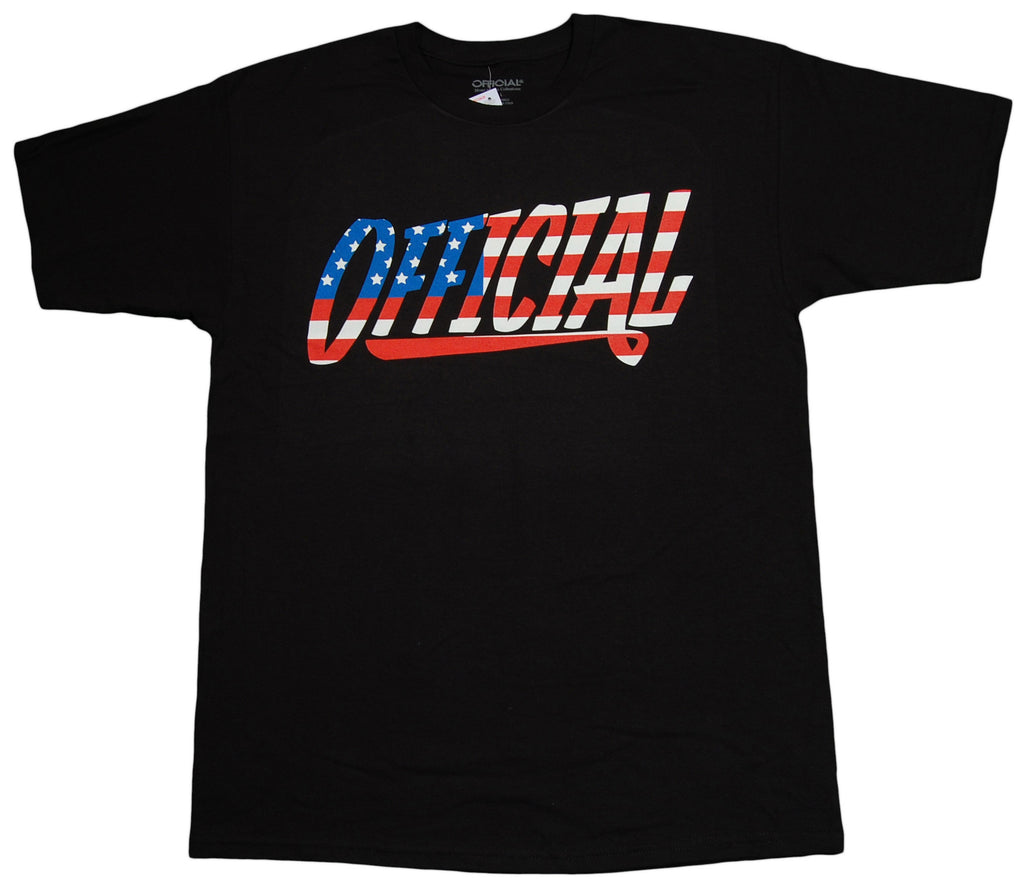 <!--2013082008-->Official - '1D Ol' Glory' [(Black) T-Shirt]