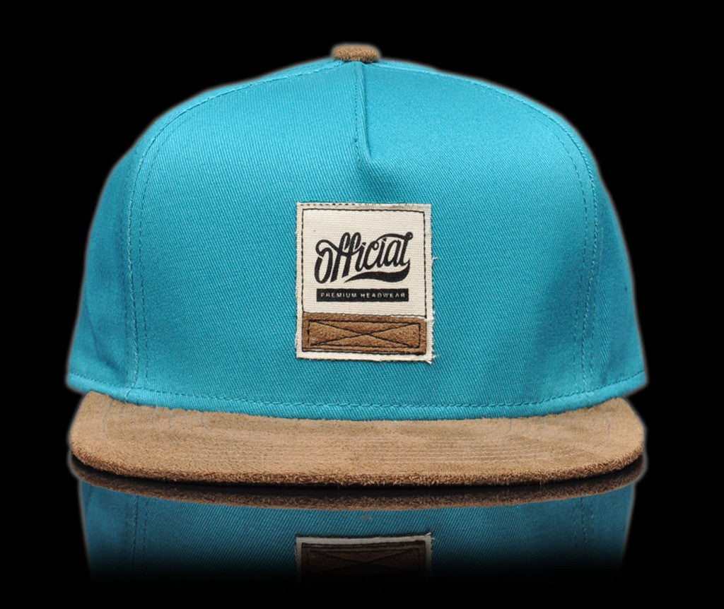 <!--020140808065105-->Official - 'Canvas Swatch - Teal' [(Light Green) Strap Back Hat]