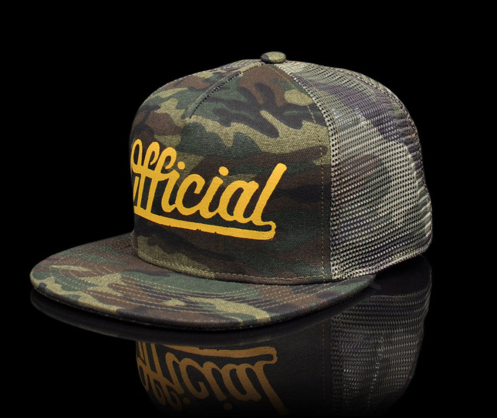 <!--020140808065094-->Official x John Cardiel - 'The Hunter' [(Camo Pattern) Snap Back Hat]