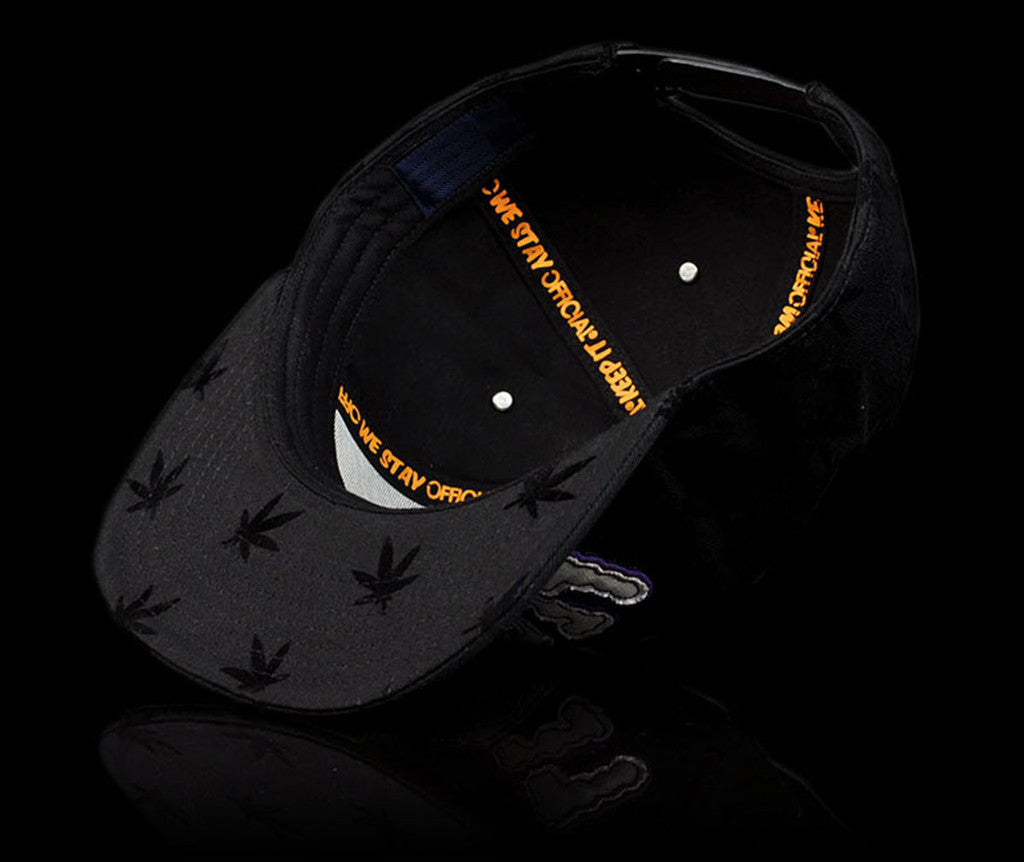 Official - 'Legalize - Rivets' [(Black) Snap Back Hat]
