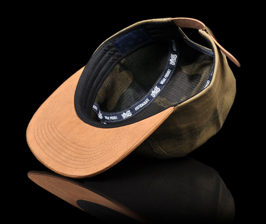 <!--020140808065114-->Official - 'Camo Reversed' [(Light Brown) Five Panel Camper Hat]