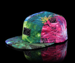 <!--020140808065110-->Official - 'Space Weed Overlord' [(Multi-Color) Five Panel Camper Hat]