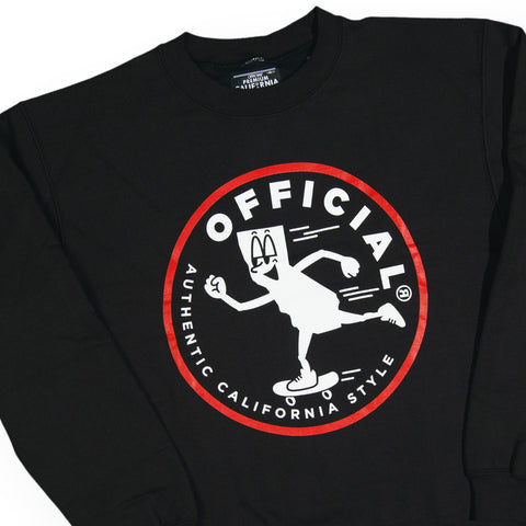 Official - '#YungCali SKT' [(Black) Crewneck Sweatshirt]