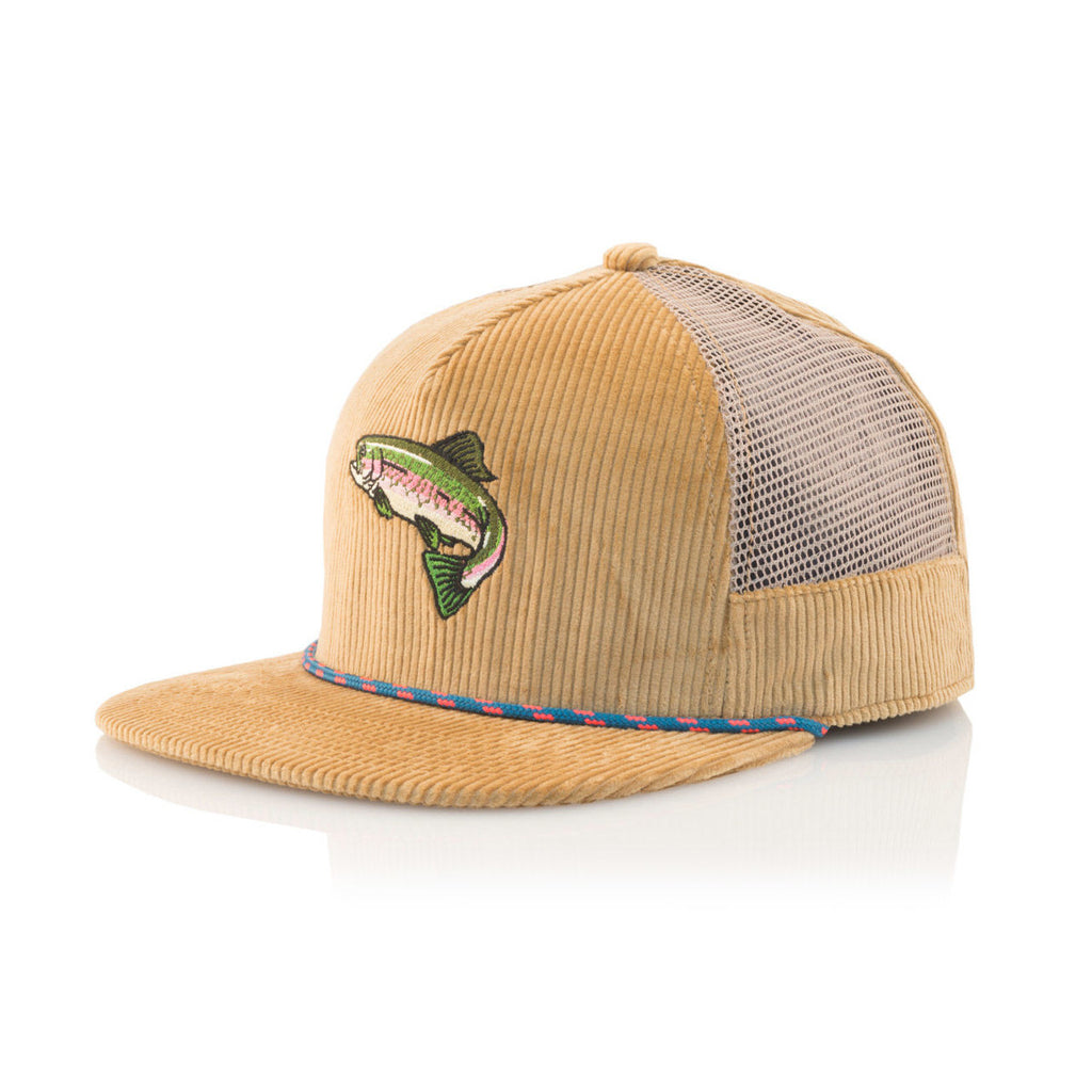 <!--120160826073936-->Official - 'Trout' [(Light Brown) Snap Back Hat]