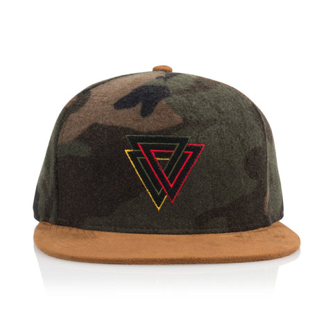 Official - 'Cards Tri Camo' [(Camo) Snap Back Hat]