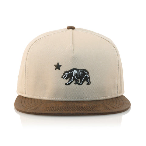 Official - 'Dolo Bones' [(Light Brown) Strap Back Hat]