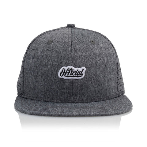 Official - 'Warmups' [(Dark Gray) Snap Back Hat]