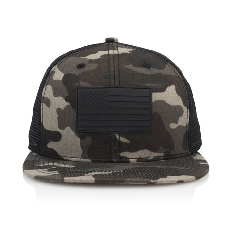 Official - 'BLK FLG' [(Camo) Snap Back Hat]