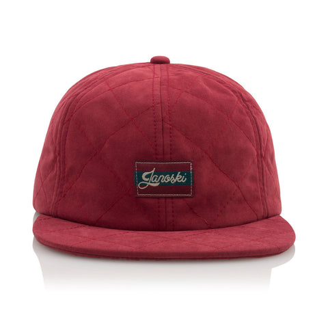 Official - 'Janoski Alamo' [(Dark Red) Strap Back Hat]